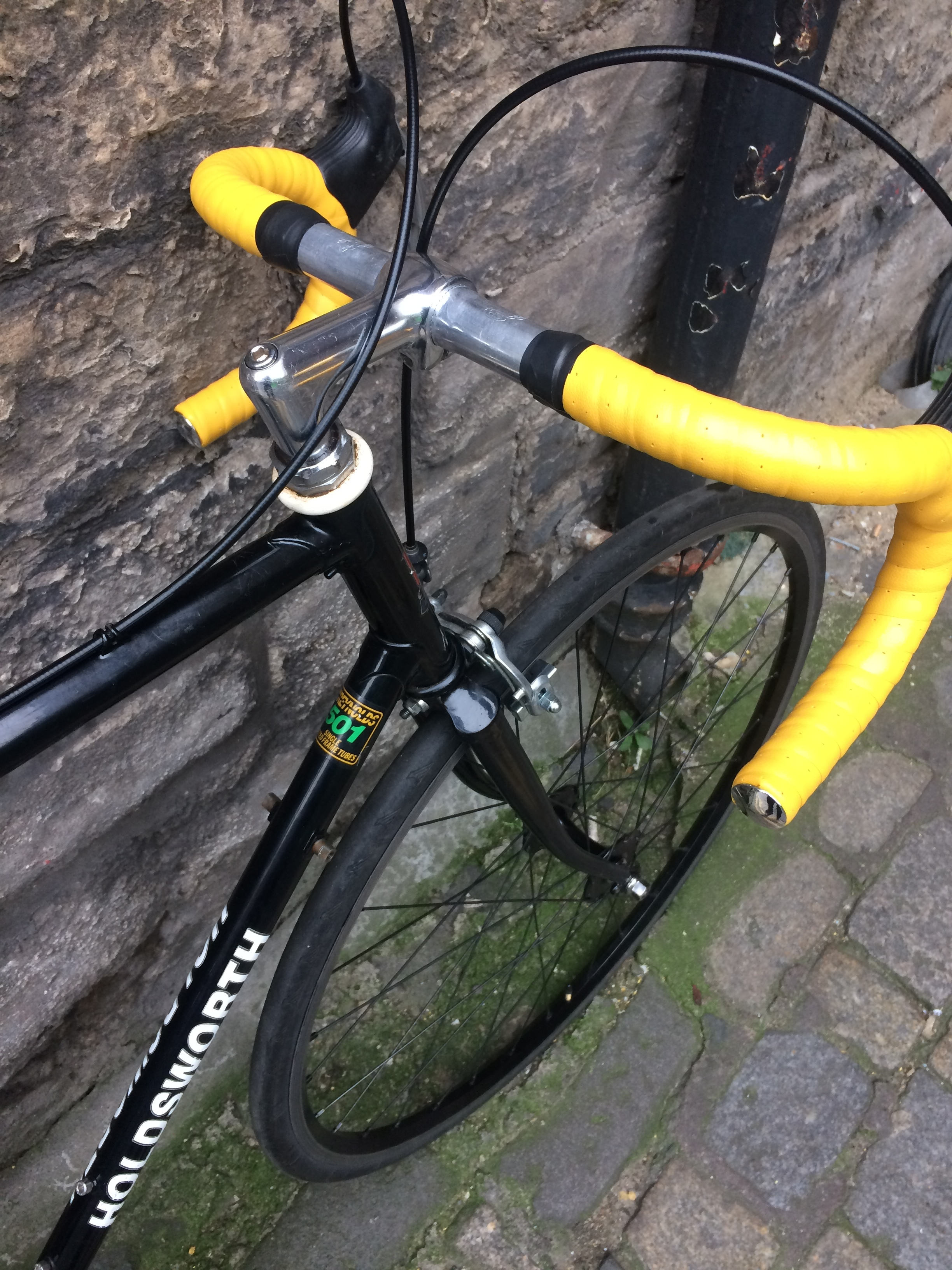 A flash of colour provided by some NOS Italian bartape