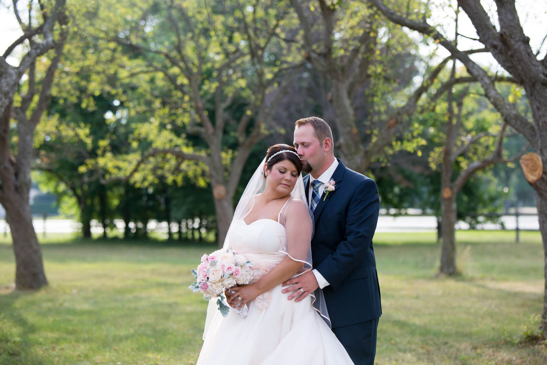 Lindsey + Andrew - When you know, you know. And Lindsey + Andrew knew the moment they met. Take a look inside their glam wedding.