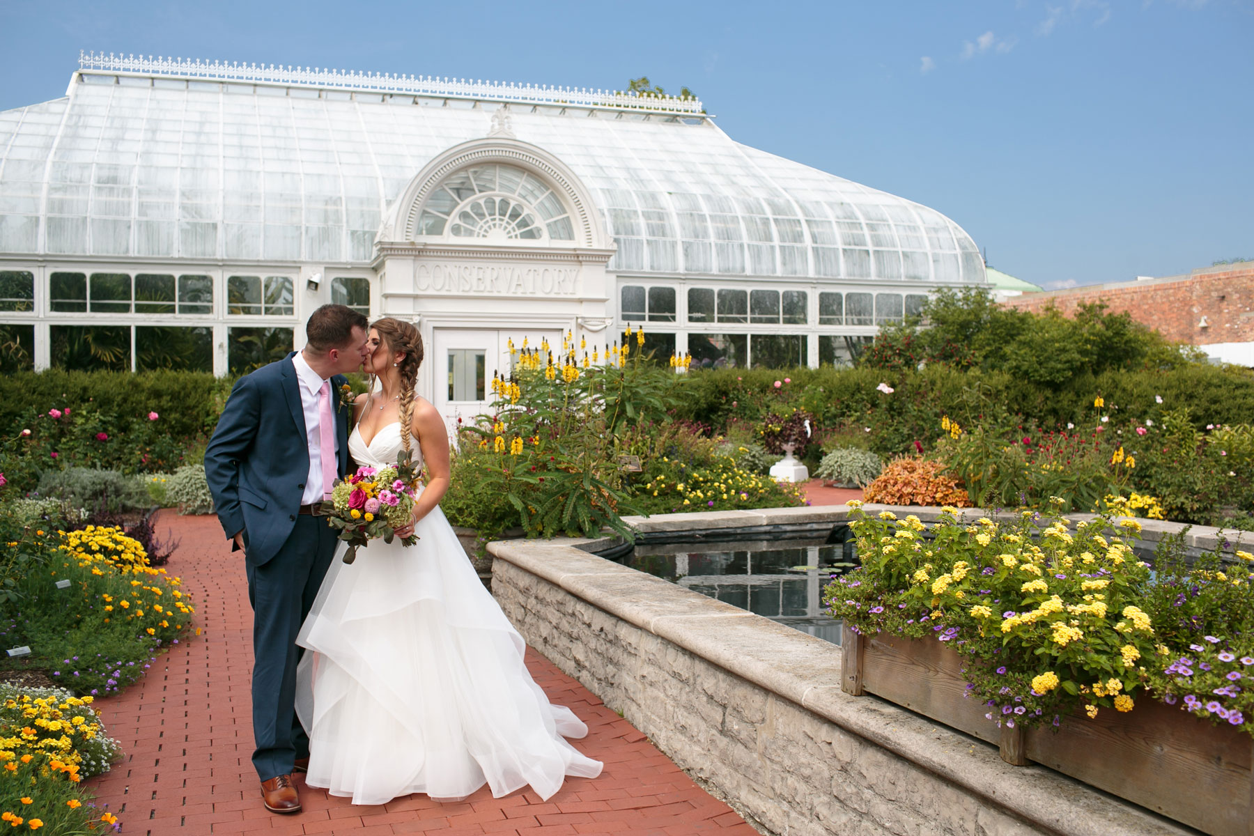Shawna + Ryan - Blooming florals, geometric shapes, dancing + endless love... does it get any better?