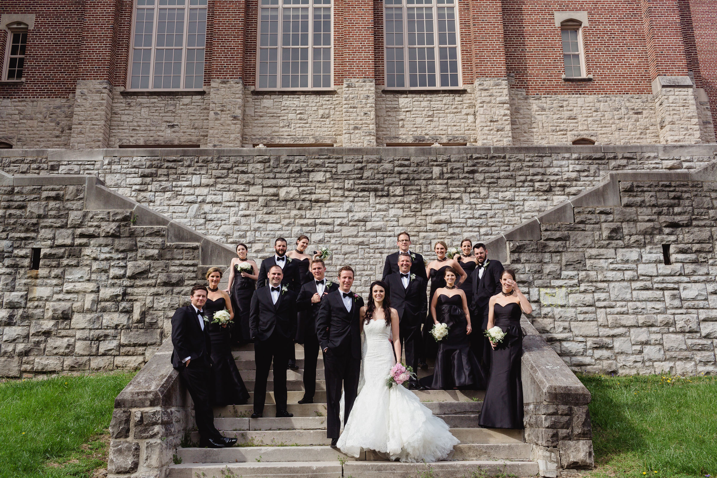 Marissa + Sean - This glamorous black + white celebration at Toledo Country Club was anything less than spectacular.