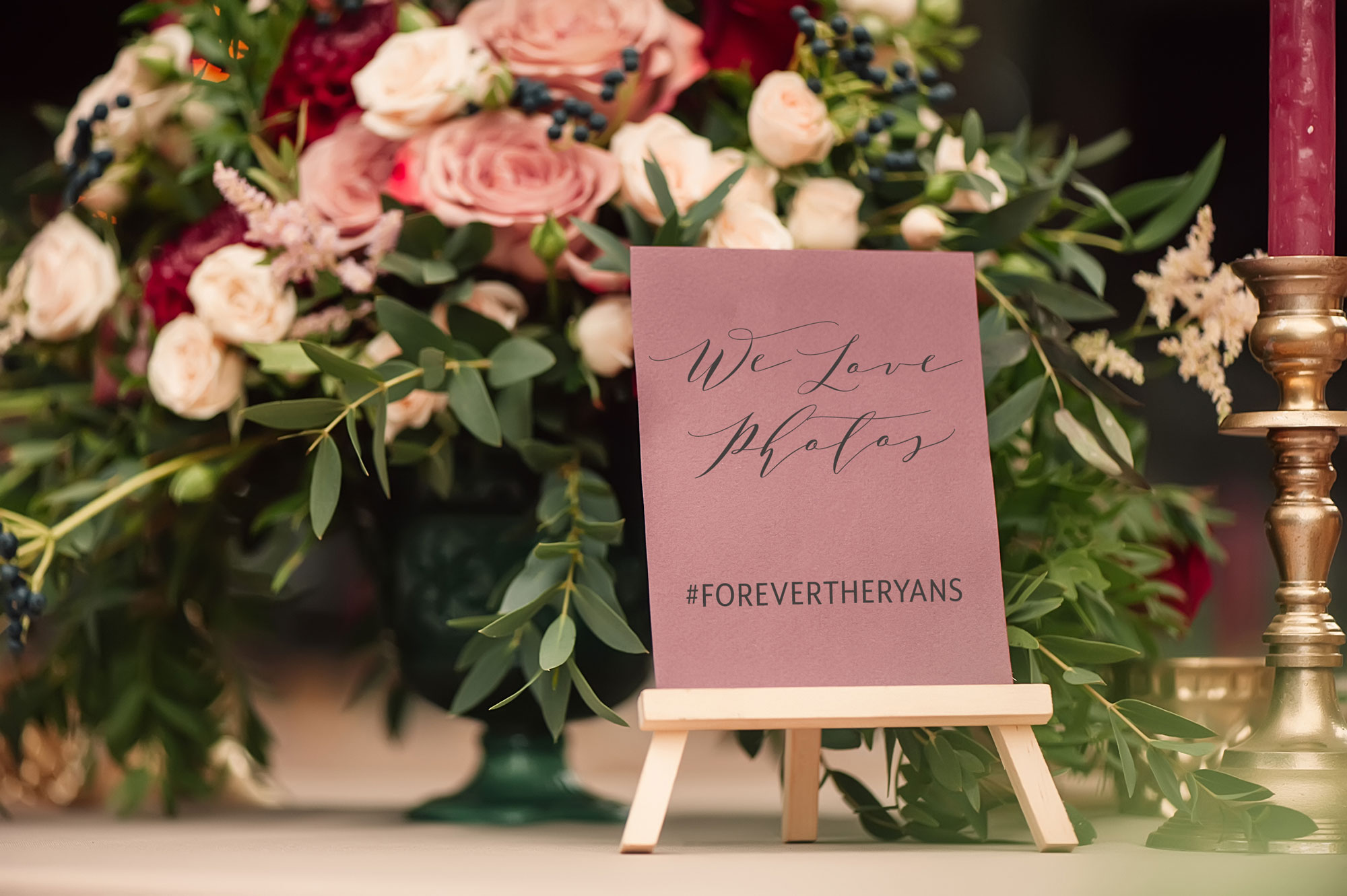 How to Create and Display a Memorable Wedding Hashtag // Toledo Wedding Guide