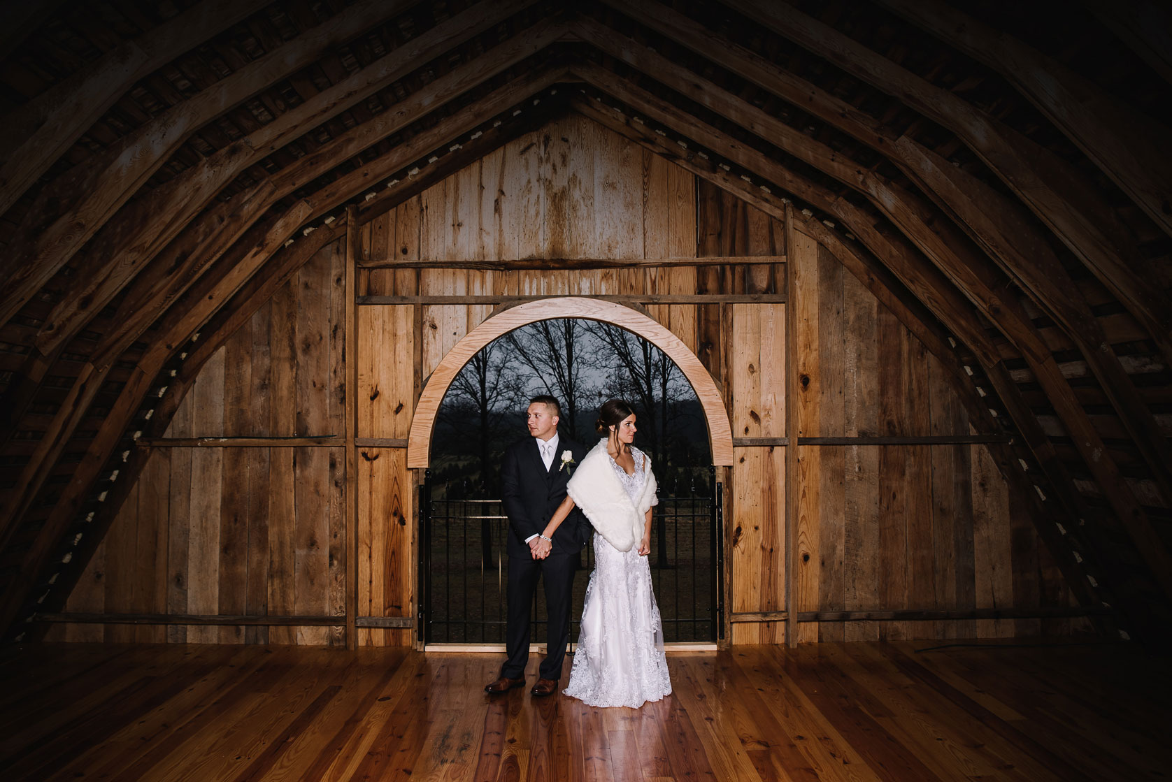 Andrea + Austin - If you are dreaming of a rustic wedding, The Stables is the perfect venue.