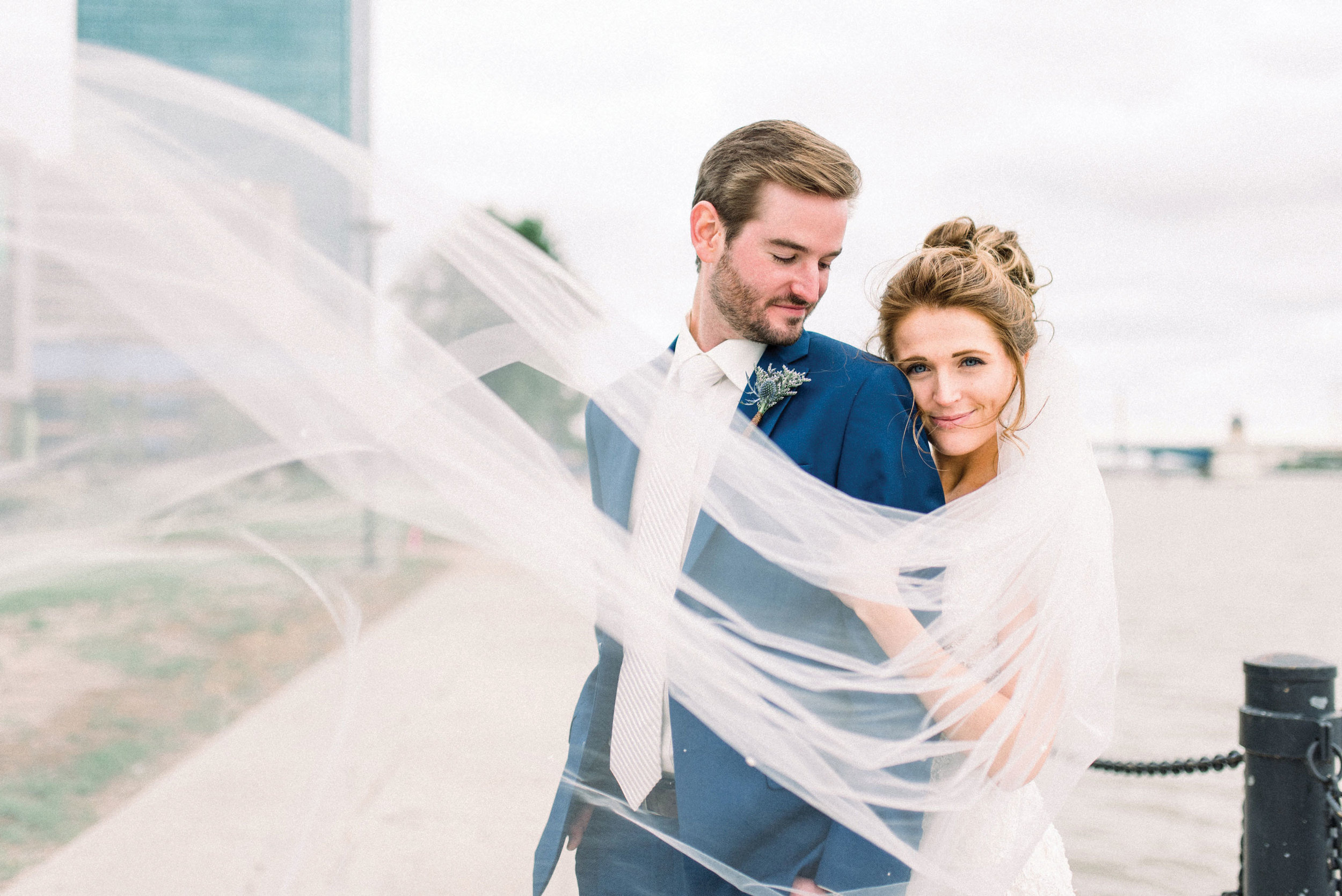 Fran + Max - Nothing was going to stop this bride from marrying the man of her dreams.