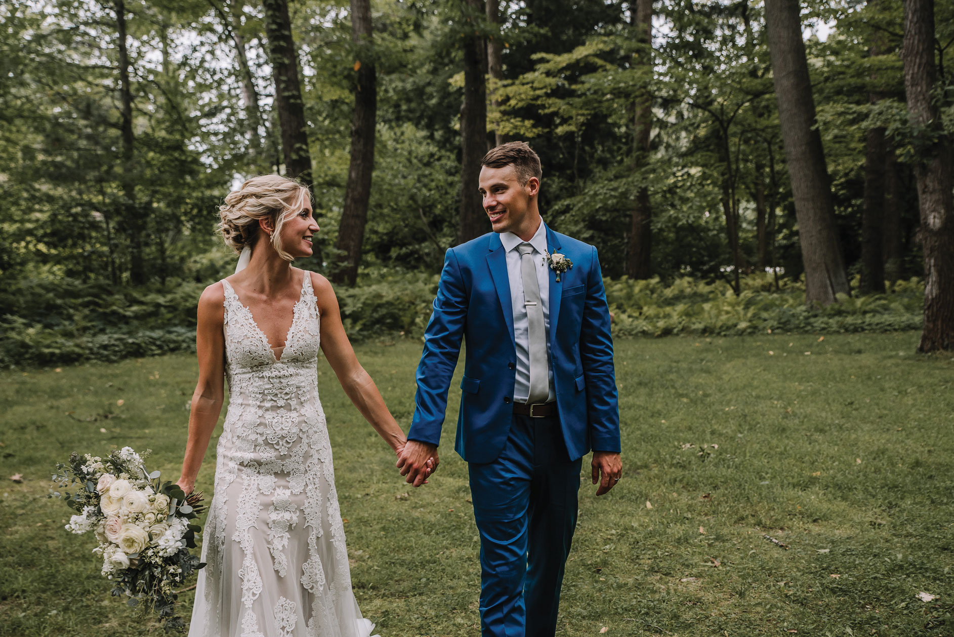 Taylor + Shane - From the Bride's lacy dress to the twinkling reception, you're sure to find at least one little detail from this wedding to pin to your wedding board.