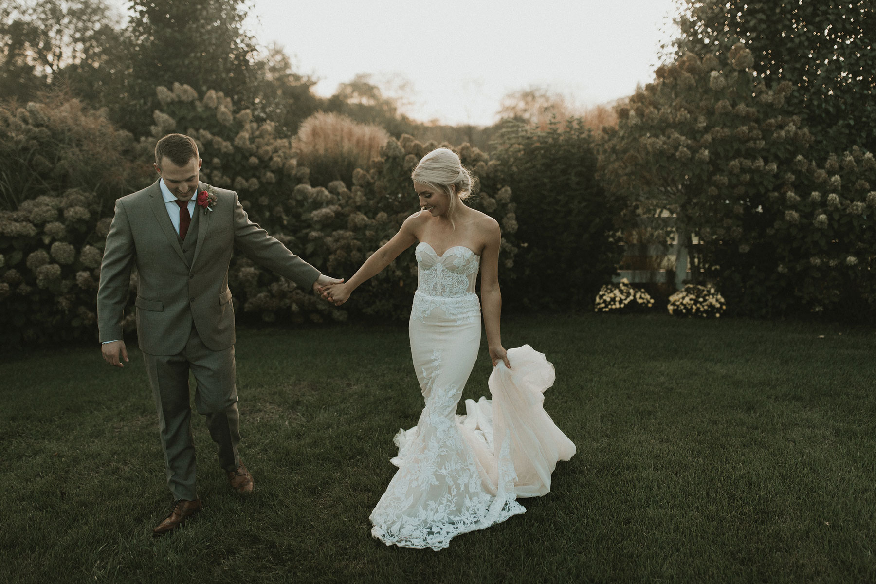 Madeline + Tyler - We are still in awe over this bride's Inbal Dror Haute Couture bridal gown.