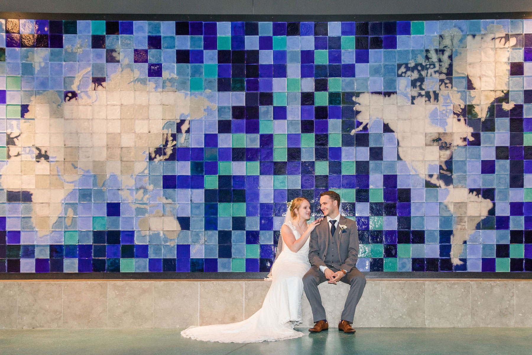 Chelsea + Jon - When the bride and groom both served in the Navy, a nautical theme is a must.