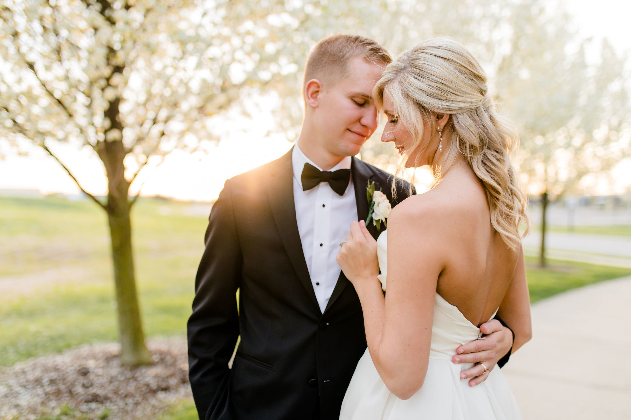 Katie + Stephen - This couple did not miss a detail from the bride's stunning Lazaro wedding gown, to their gorgeous blooms, to the groom's cake all captured by Viridian Ivy Images.