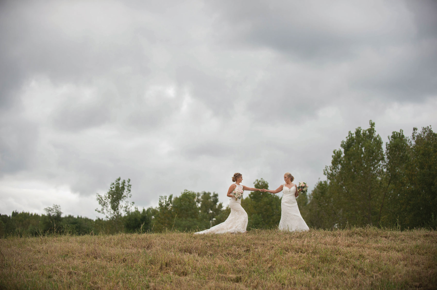 Sarah + Jenna - A setup that leads to a happily ever after for these two.
