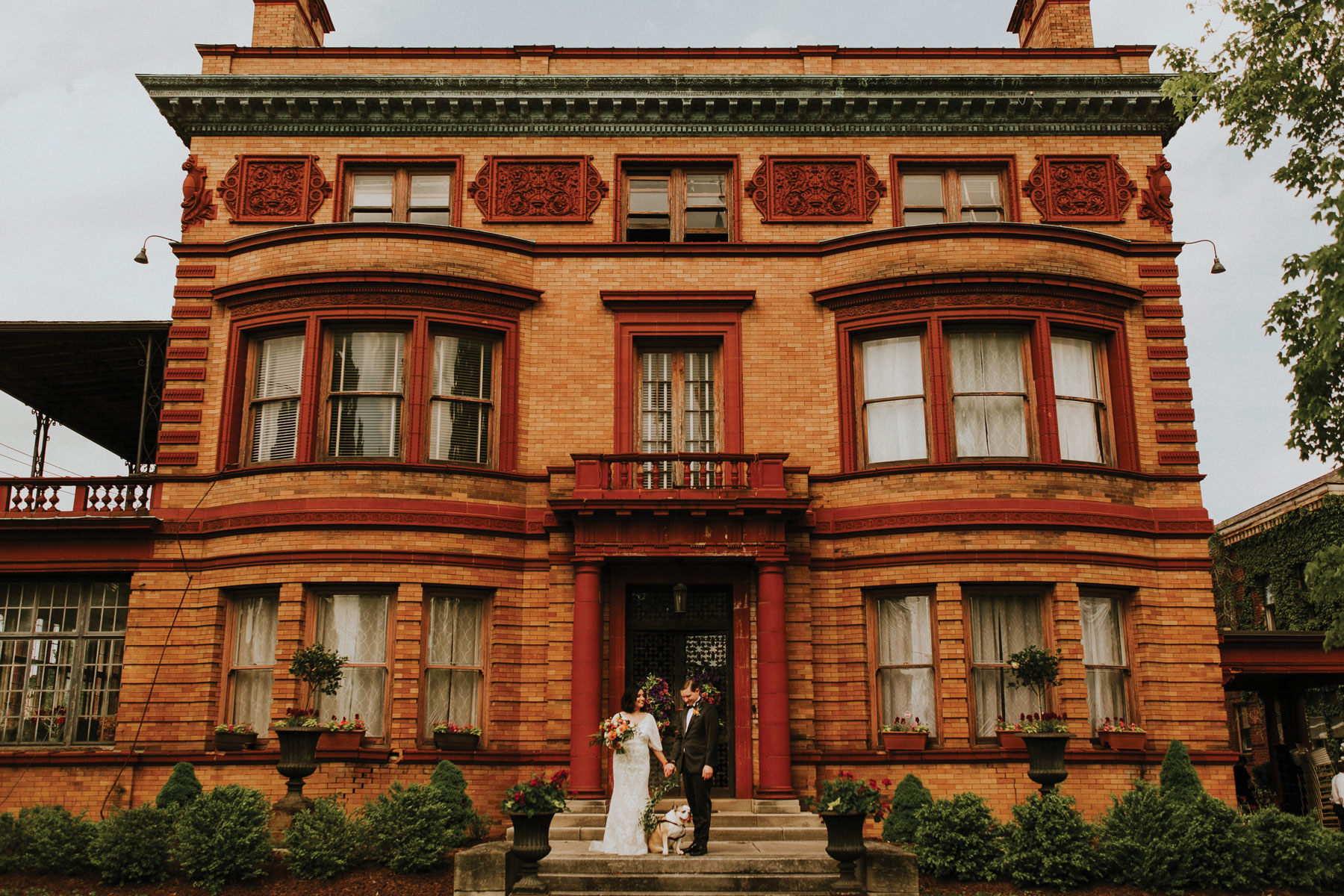 Karen + Adrian - A private historic mansion in Toledo's Old West End was the perfect stage for this unique and unforgettable wedding.
