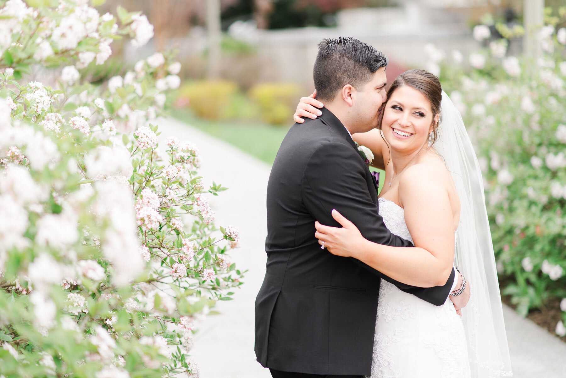 Monica + Stephen - If you have a love for watercolor and an array of stunning purple floral hues, this wedding is for you.