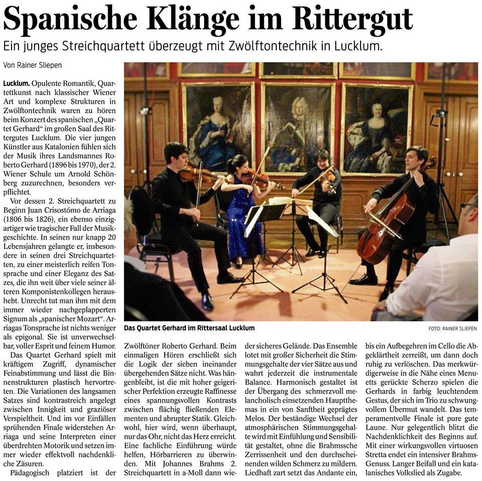 Wolfen Bütteler Zeitung - Rainer Sliepen    15.09.19   Review (german)
