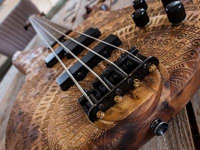 Yamaha RBX370A Bass: Mandala
