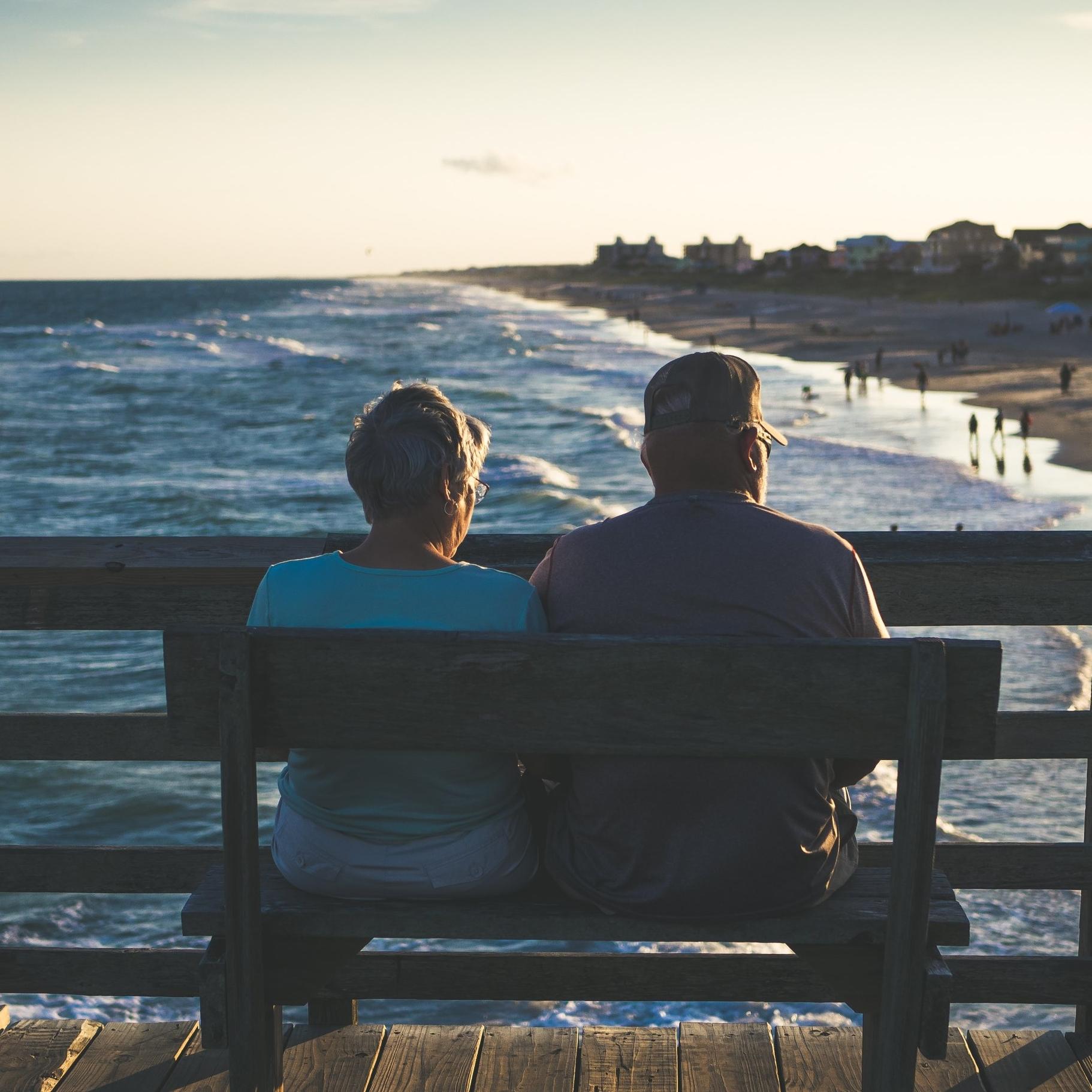 Man and Woman sitting reflecting.jpg