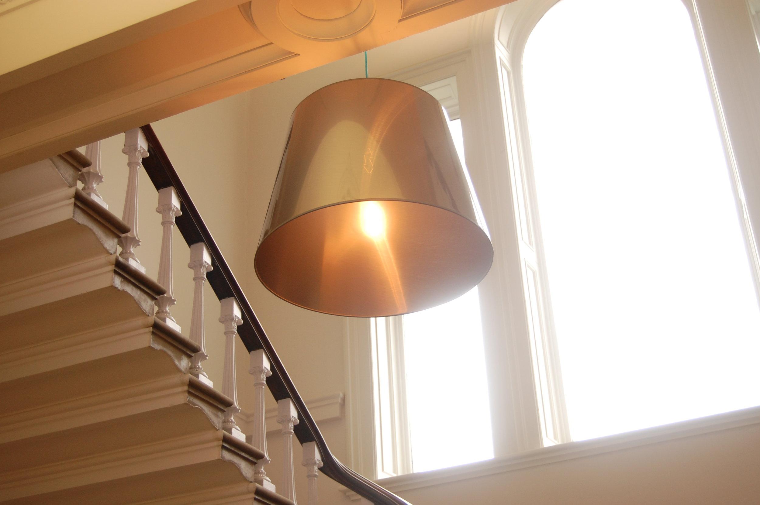 Bespoke lighting pendant