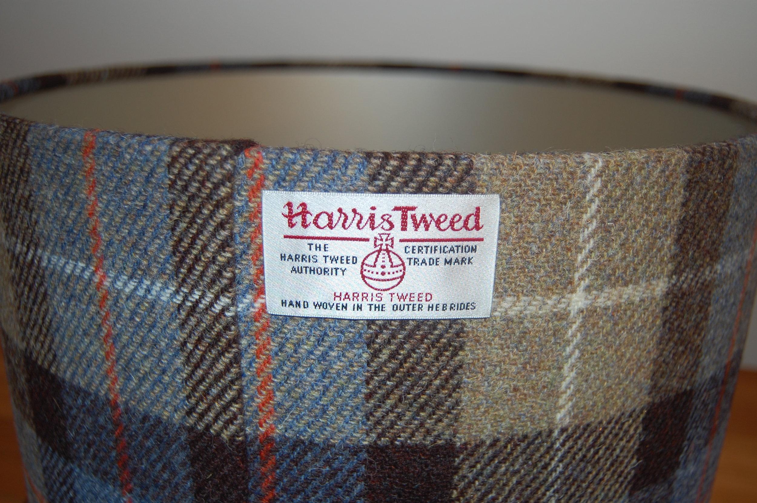 Harris Tweed lampshades