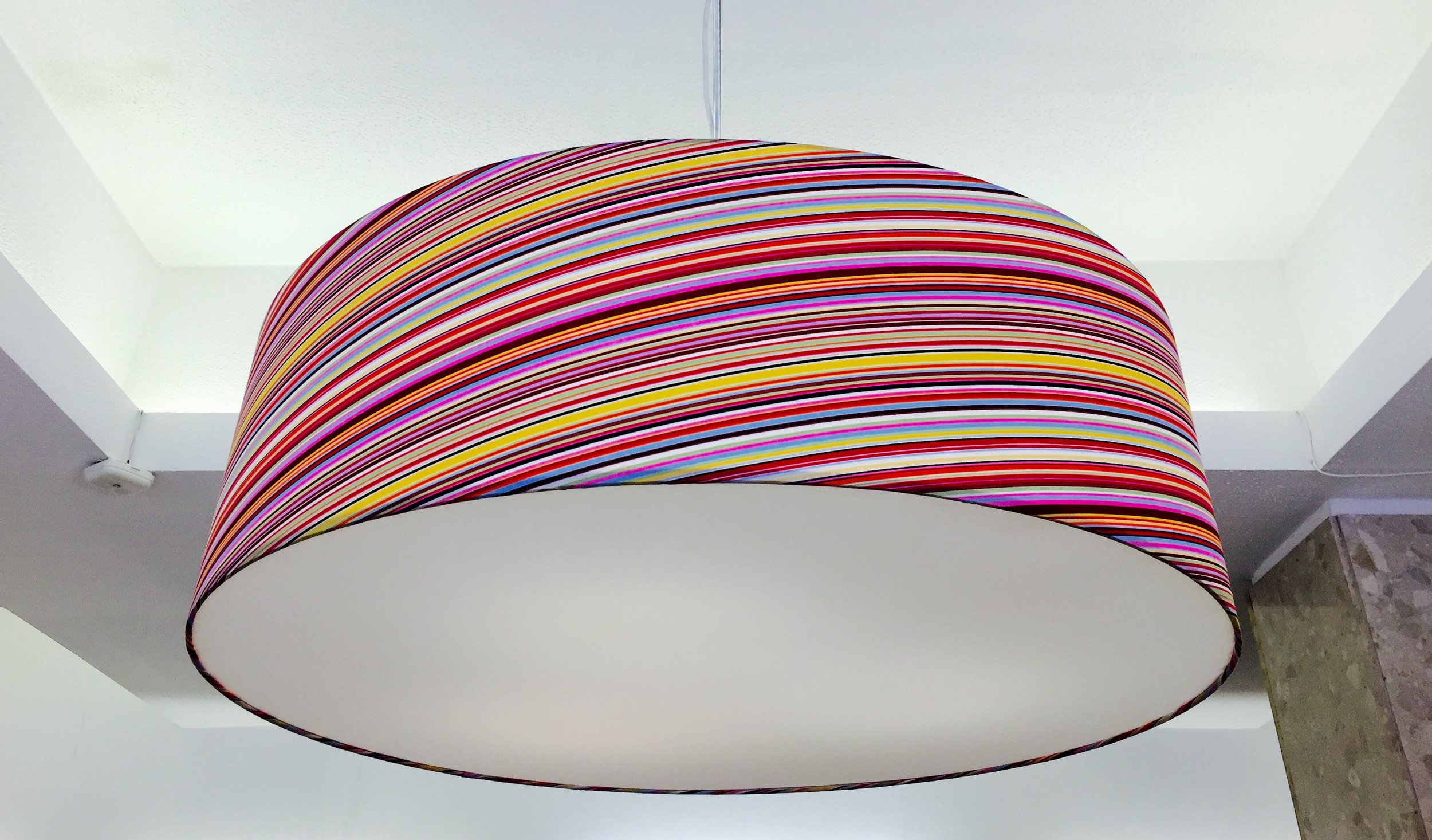 Extra large lampshades