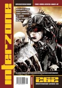 Interzone 262: Cover by Vincent Sammy