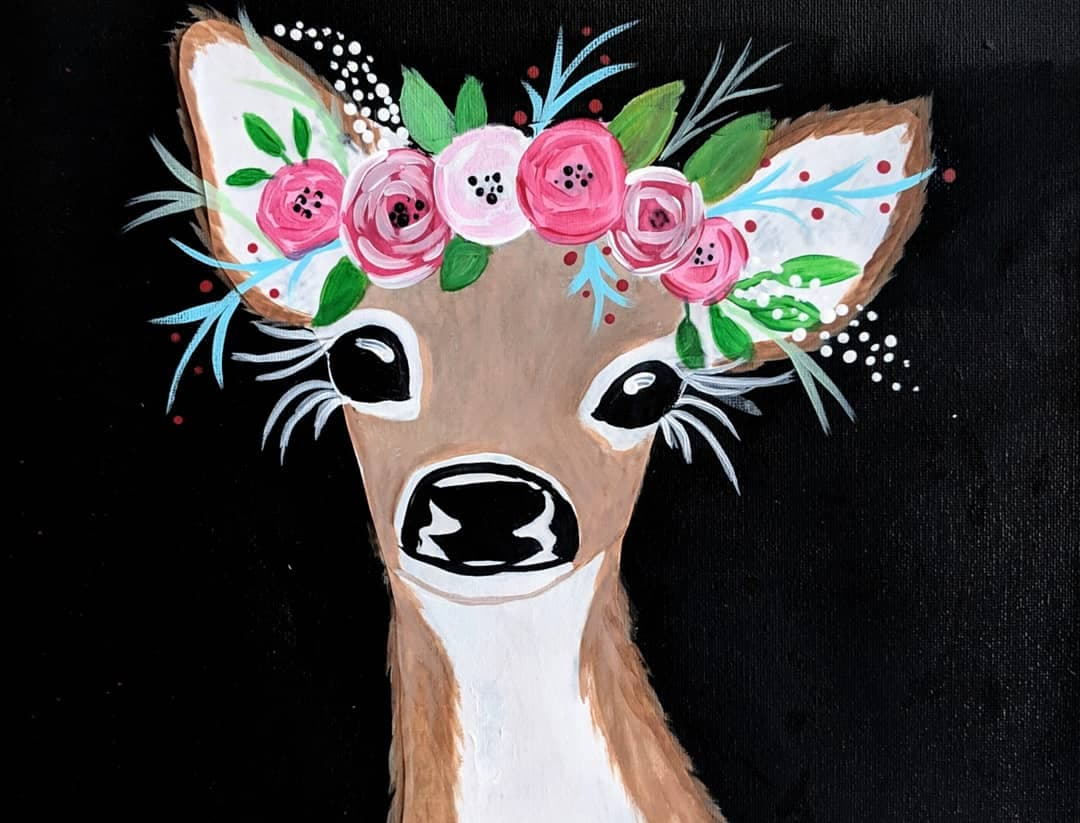 fawn with flower crown.jpg