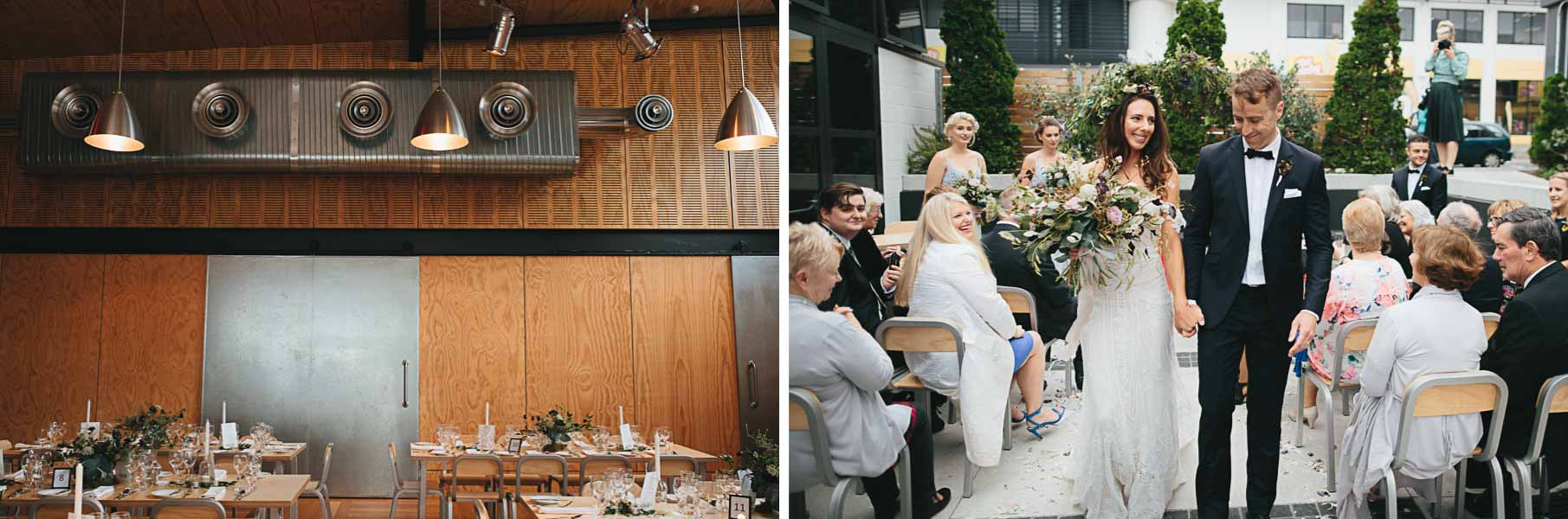 Get married in style at Prefab Wellington