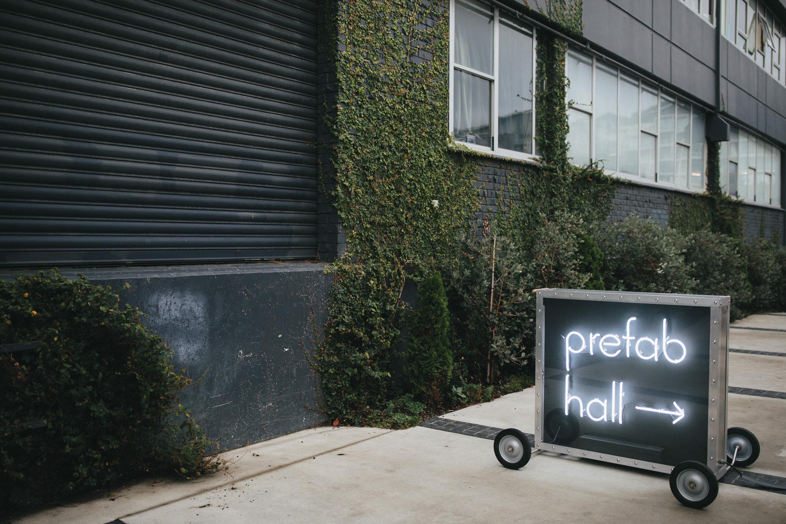 Prefab Hall wedding venue review