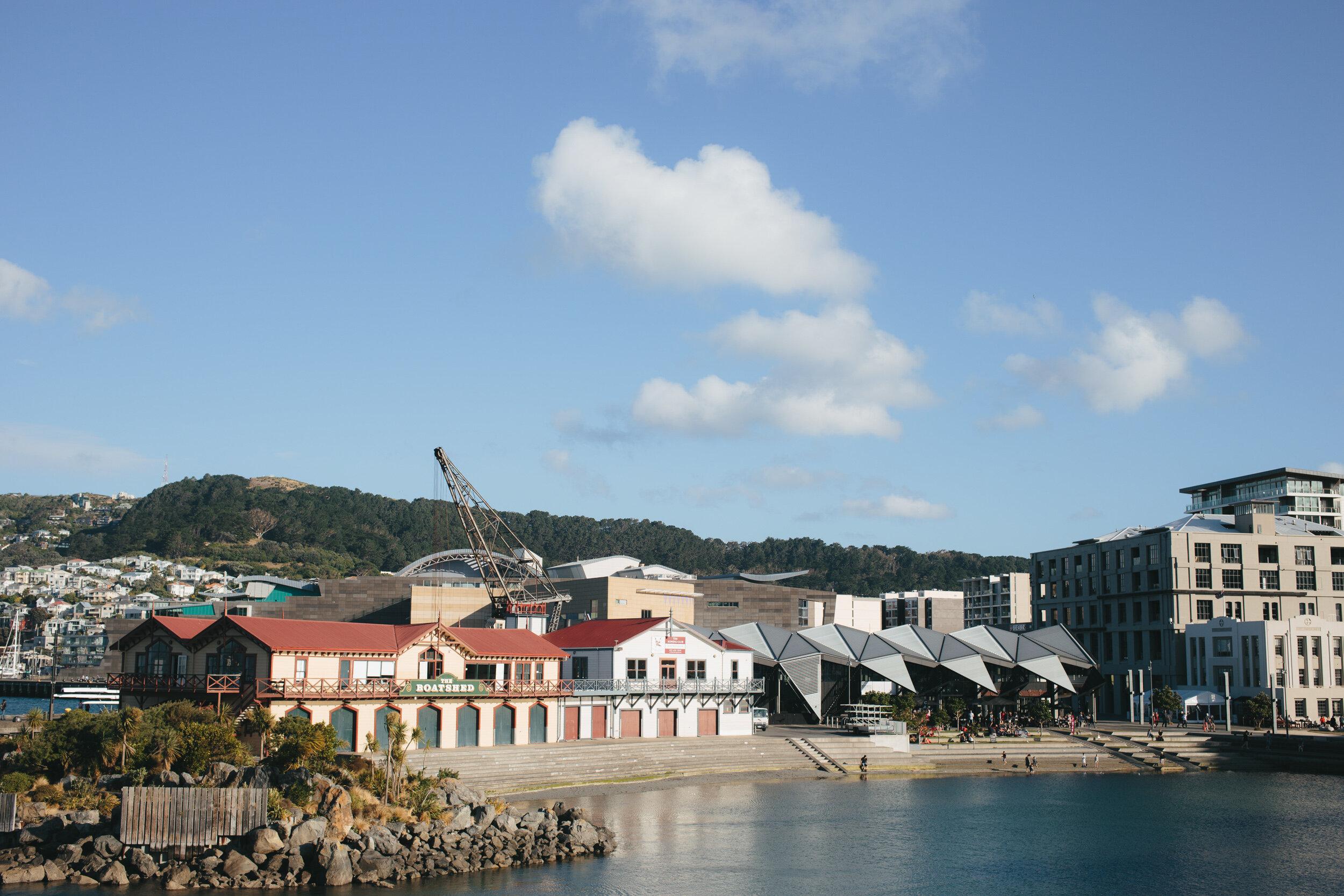 The Boatshed wedding venue Wellington NZ