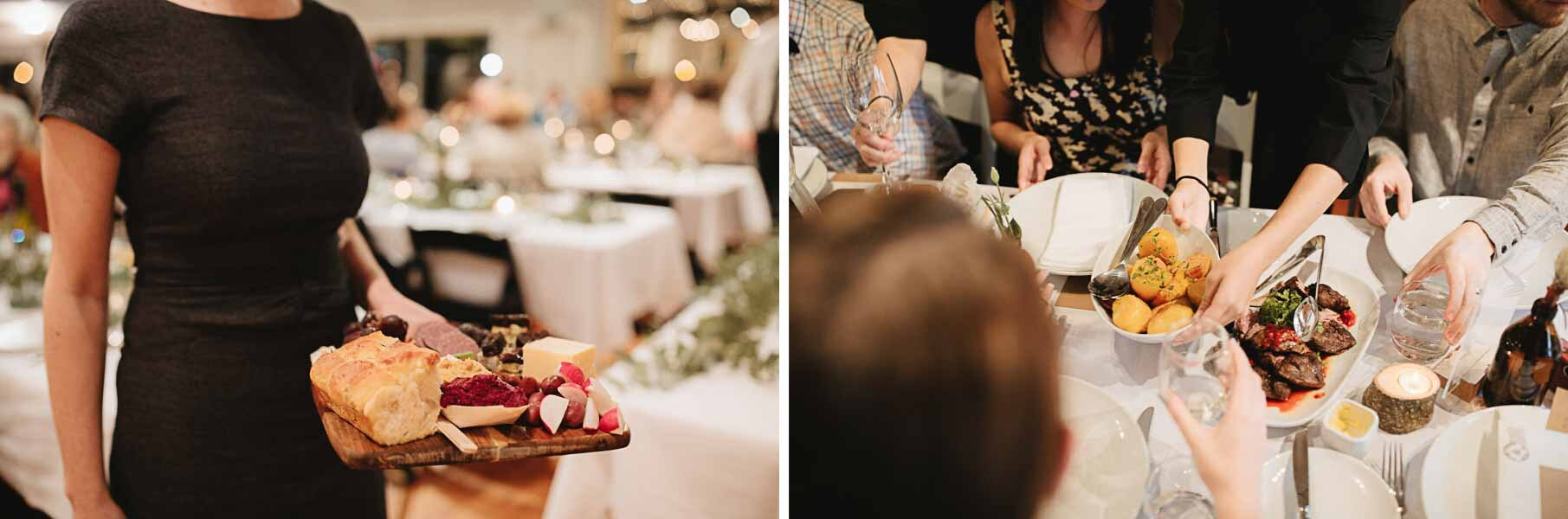The Boatshed wedding catering