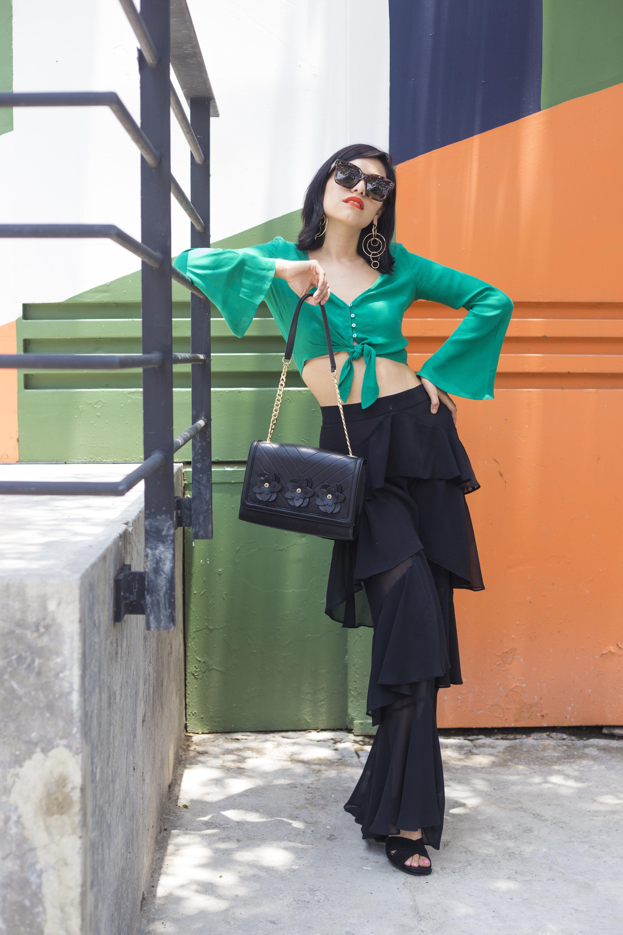 Bolso Karl Lagerfeld  Shoes Massimo Dutti