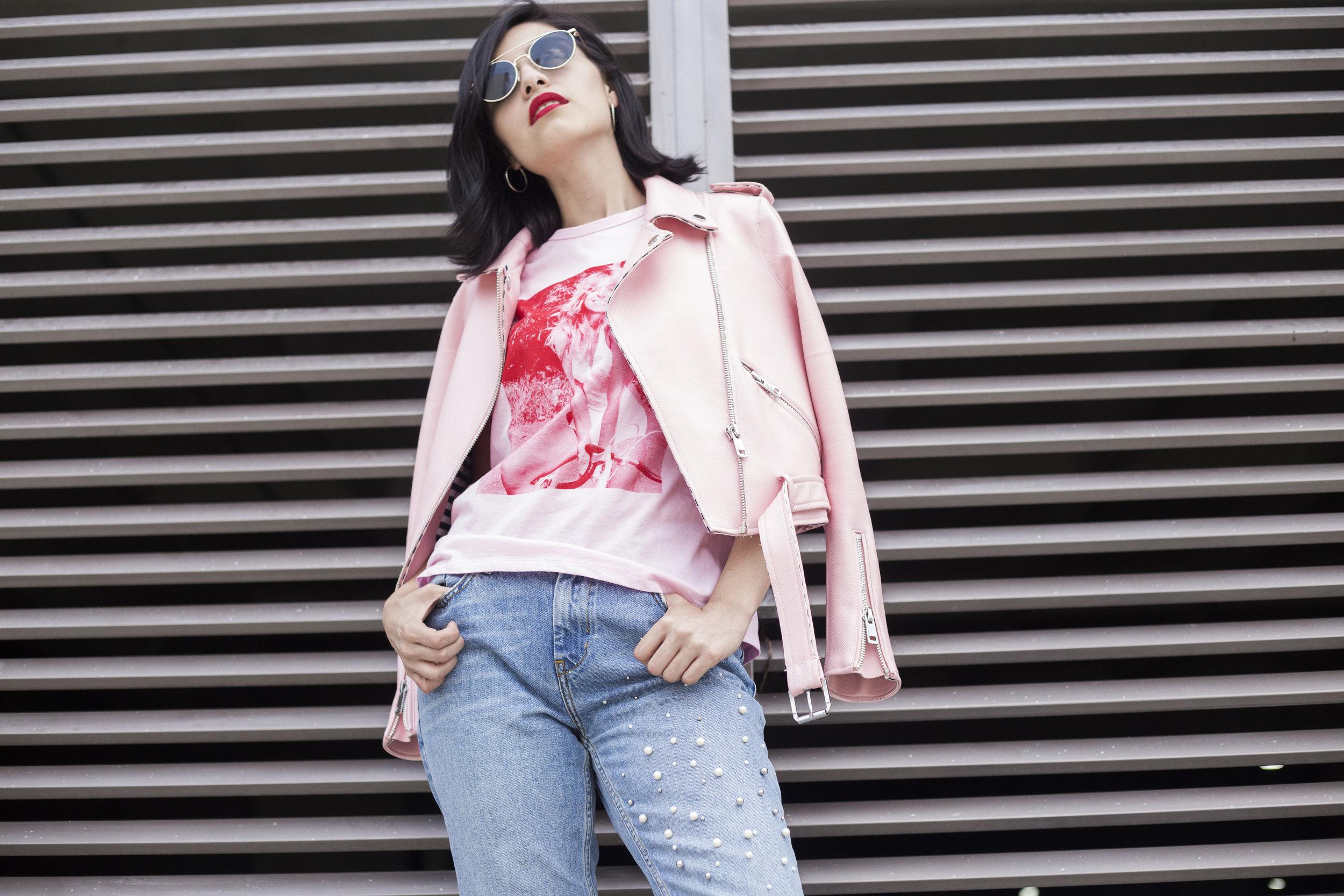 Bicker Jacket: Zara