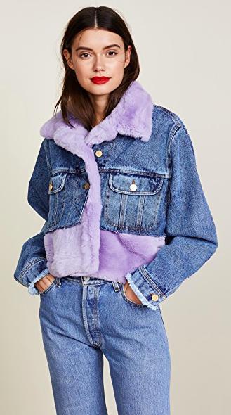 Denim + Fur - Designer -Natasha Zinko