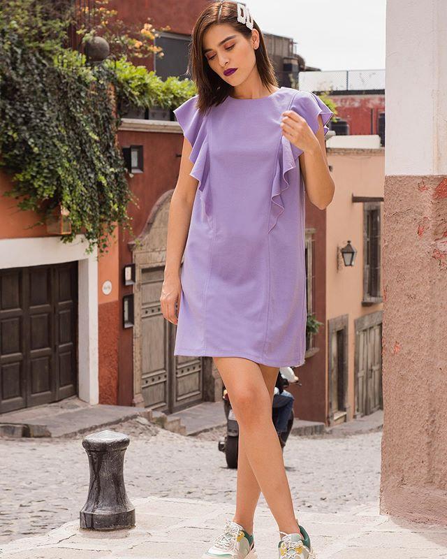 Friday Look 💜 Este outfit lo tomamos en una de las calles de SMA, pero siento que parece Puebla 😔  Jajaja Últimamente soy fan de usar faldas y vestidos � casi no me gusta usar jeans, no me odien jajaja 😨 #stradablogmx . . . . . . #streetstyleblog #styletipsforwomen #streetstyleph #blogpersonal #girlbossstyle #bloggerpoblana #mexico #visitmexico #fashioncontent #streetstyleoutfit #contentcreators #companiafantastica #imageconsulting #todayilookfantastic #personalstyleblog