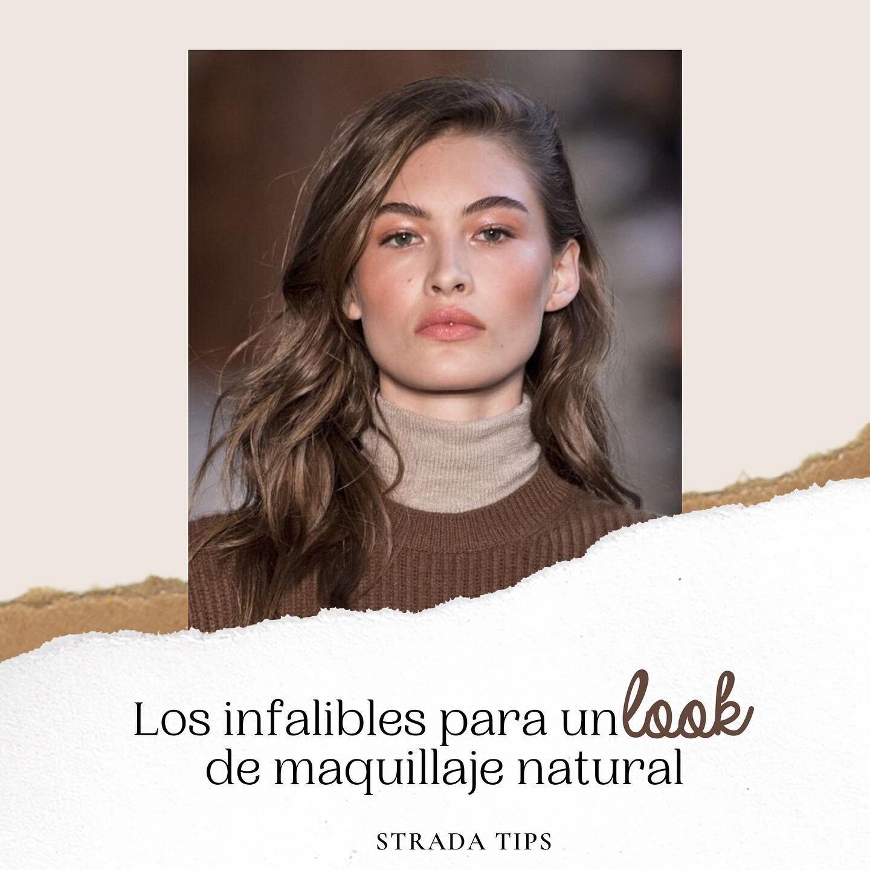 #StradaTips✨ 𝟒 𝐈𝐧𝐟𝐚𝐥𝐢𝐛𝐥𝐞𝐬 𝐩𝐚𝐫𝐚 𝐮𝐧 𝐥𝐨𝐨𝐤 𝐝𝐞 𝐦𝐚𝐪𝐮𝐢𝐥𝐥𝐚𝐣𝐞 𝐧𝐚𝐭𝐮𝐫𝐚𝐥 😍 Saben que soy fan de los #nomakeuplook , entre más natural se vea el maquillaje me hace siento cómoda y segura con mi piel.  Para lograr un maquillaje natural es necesario tener una piel hidratada y saludable (mi rutina de skincare esta en mi blog) pero sí que es verdad que hay productos nos ayudan a lograr este efecto natural en nuestra piel.  𝟒 𝐏𝐑𝐎𝐃𝐔𝐂𝐓𝐎𝐒 𝐅𝐀𝐕𝐎𝐑𝐈𝐓𝐎𝐒:   1. En vez de base utiliza una BBCREAM, funciona como un bálsamo que deja un efecto ULTRA ligero en nuestra piel aportando luminosidad. Mi favorita es la de @kiehlsmex.   2. Todo mi kit de cejas es de @benefitmexico y por lo regular siempre uso el gel.   3. A las mexicanas se nos ve increíble el rubor en tonos durazno o coral, los de @toofaced me encantan.   4. El toque final es un lipstick color nude, mi favorito en este momento es de @gocma