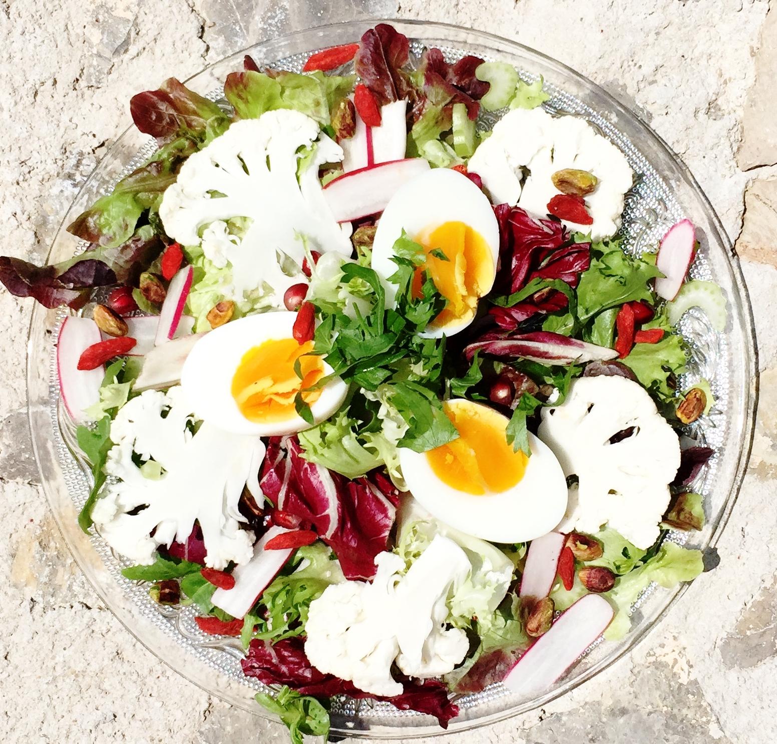 juice detox salad