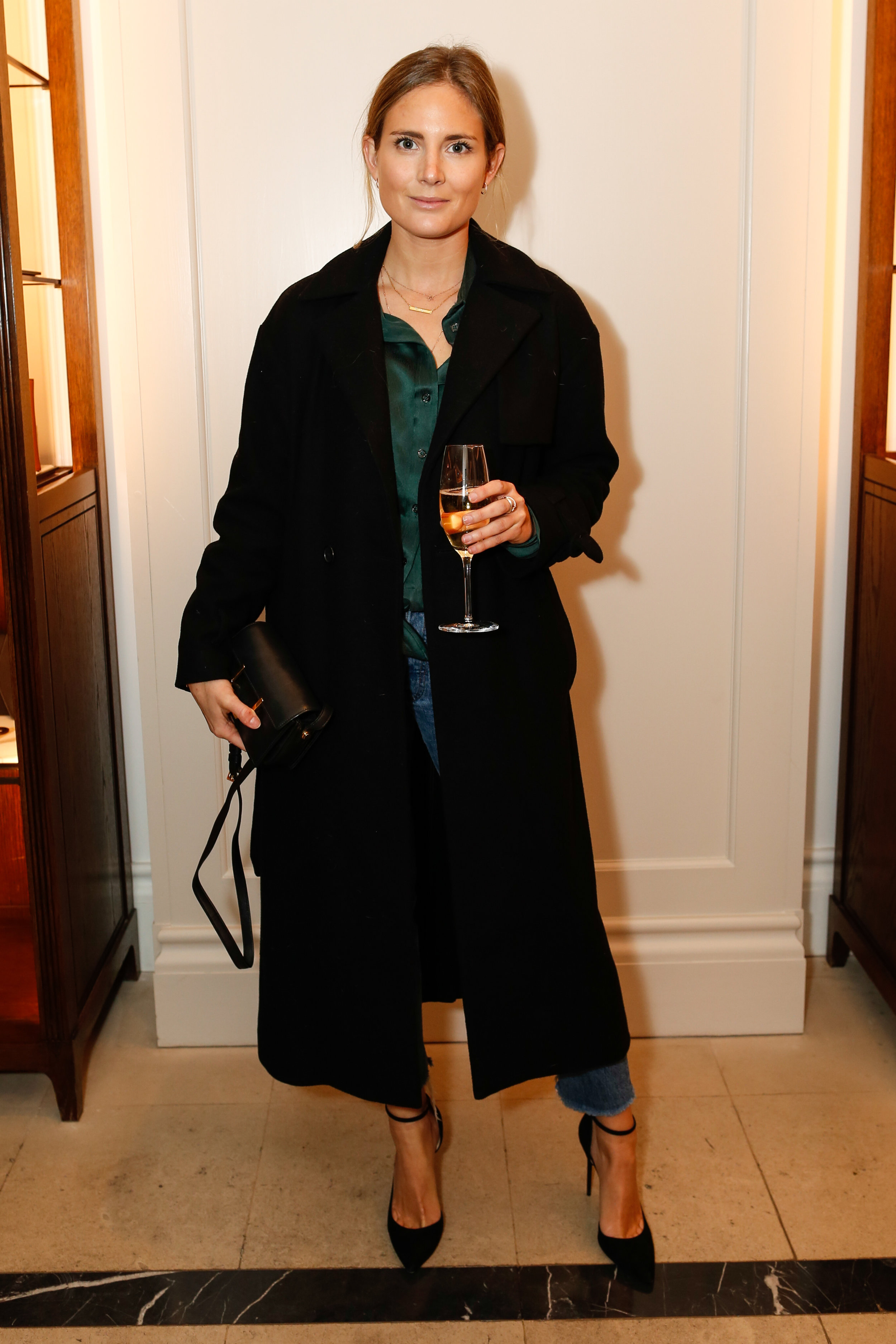 Lucy Williams at the Burberry So It Goes event at Thomas's, London, 9th February 2016