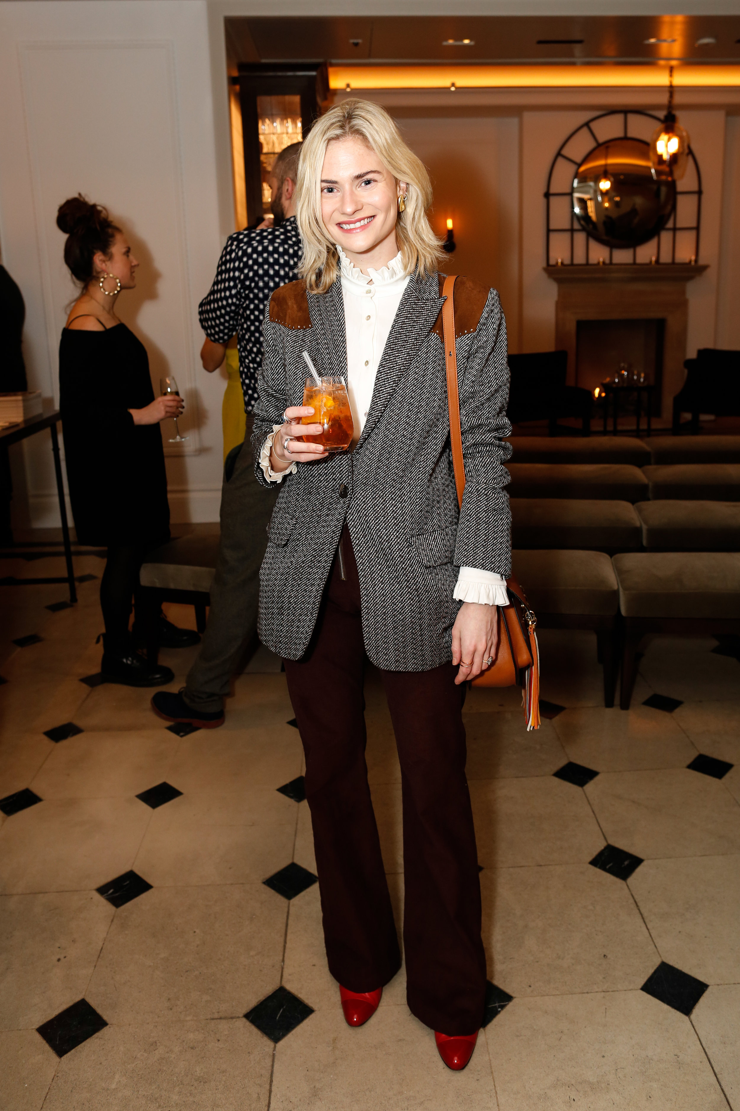 Pandora Sykes at the Burberry So It Goes event at Thomas's, London, 9th February 2016