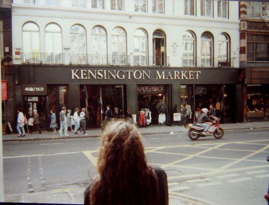 FOUND IMAGE Kensington Market, High St Kensington
