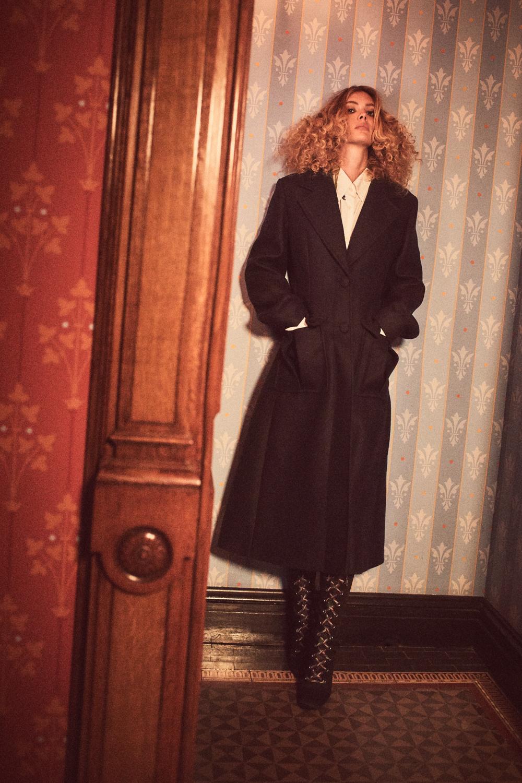 All clothing: Prada