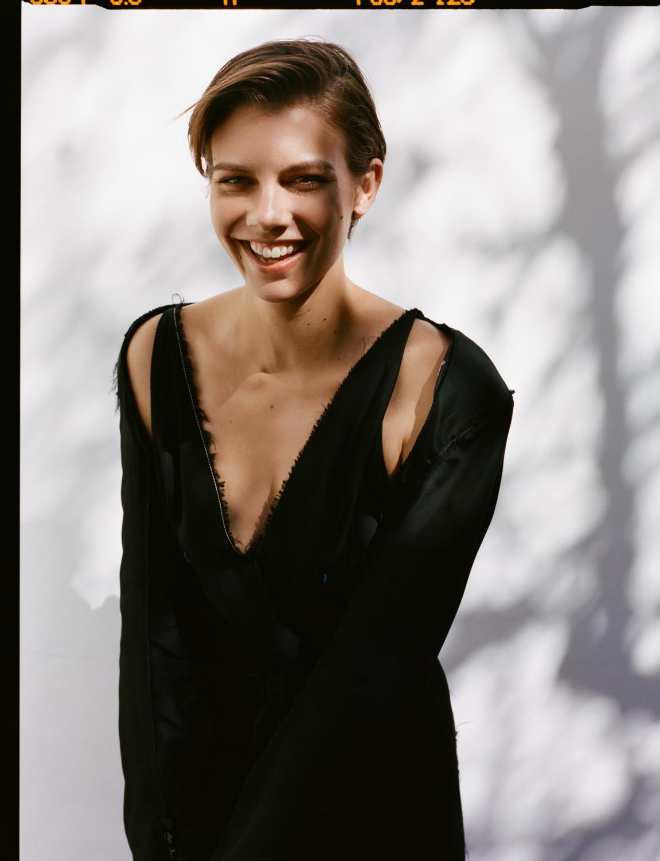 Dress: Calvin Klein
