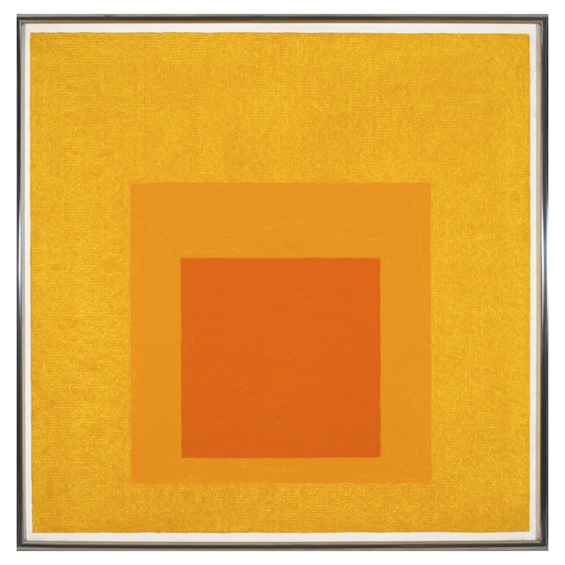 Josef Albers, Study for Homage to the Square: Aurora, 1957