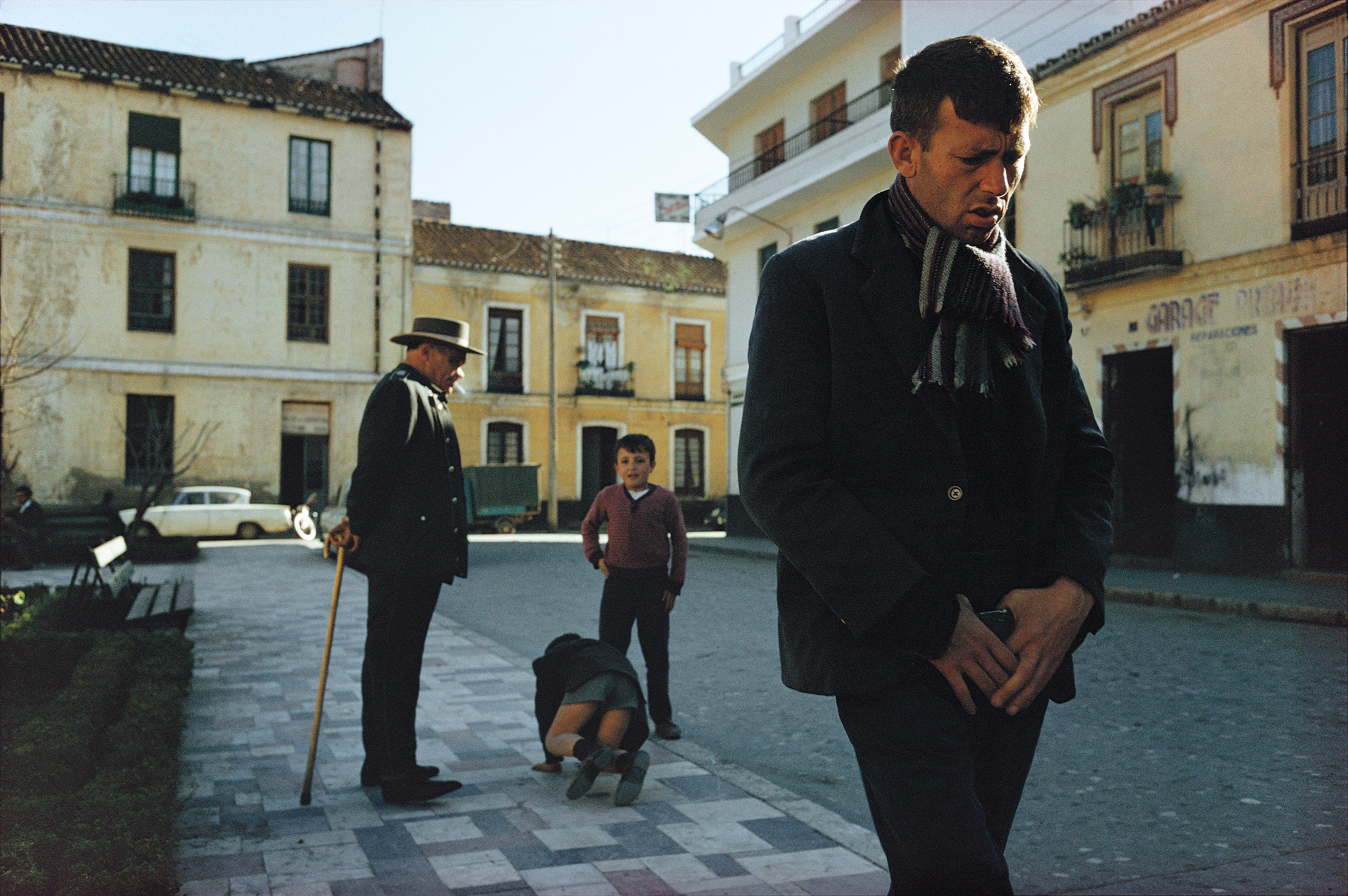 Málaga, Spain,  1967. Courtesy and Copyright of Joel Meyerowitz
