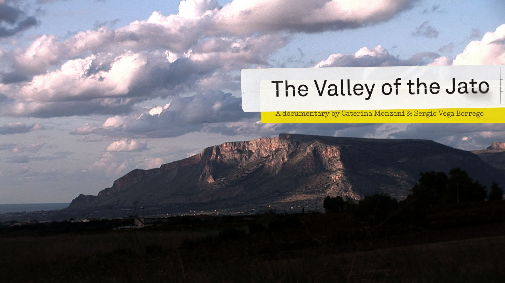 THE VALLEY OF JATO dir. Caterina Monzani & Sergio Vega