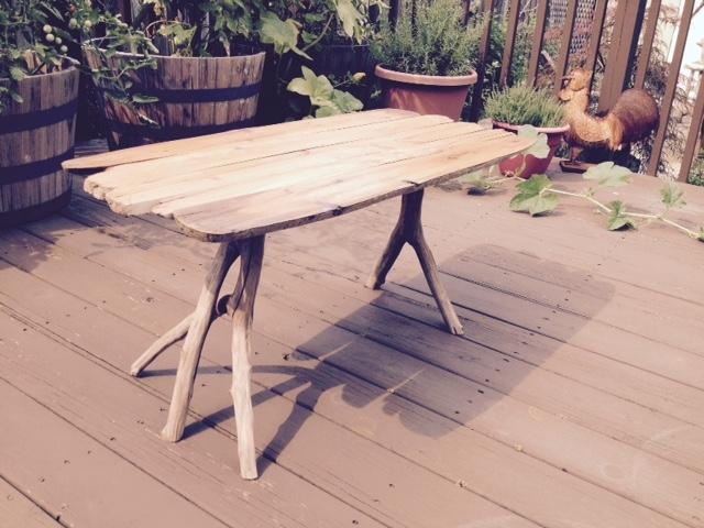Five-Legged Table