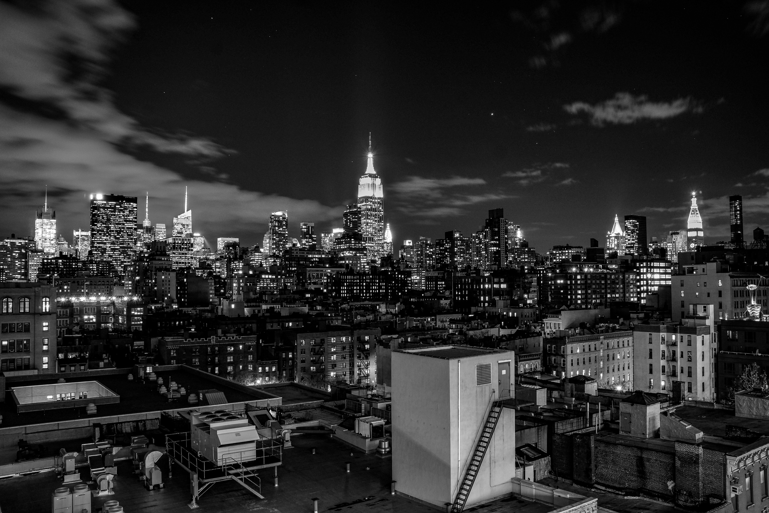 The view from Google, 2012. This is the photo that inspired this project.