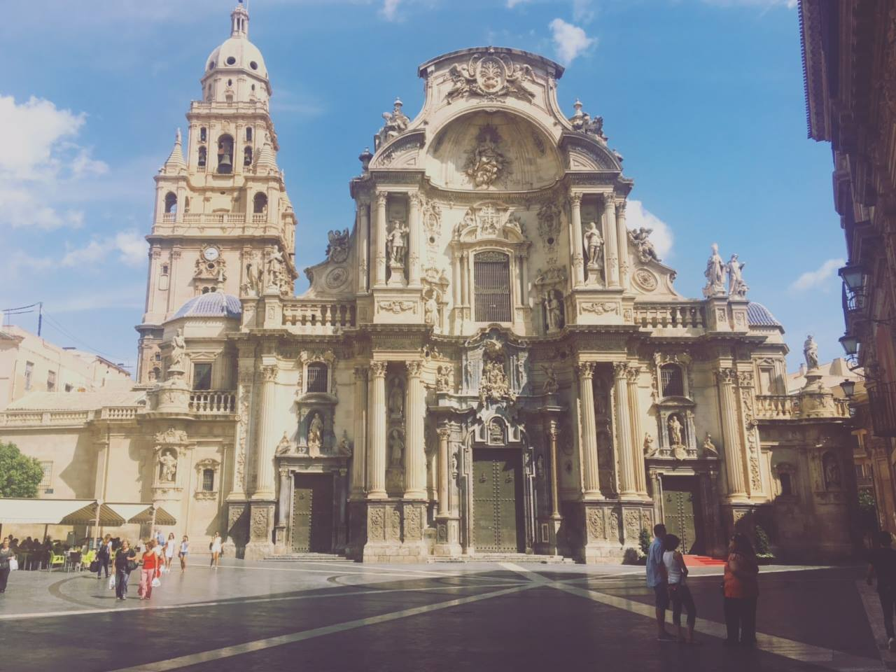 Katie Hamilton Photo of a Spainish  Cathedral