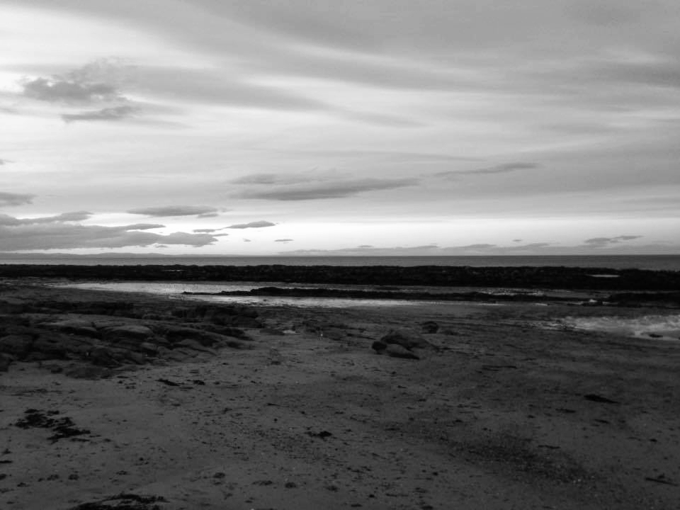 Sunset on the Beach at St Andrews