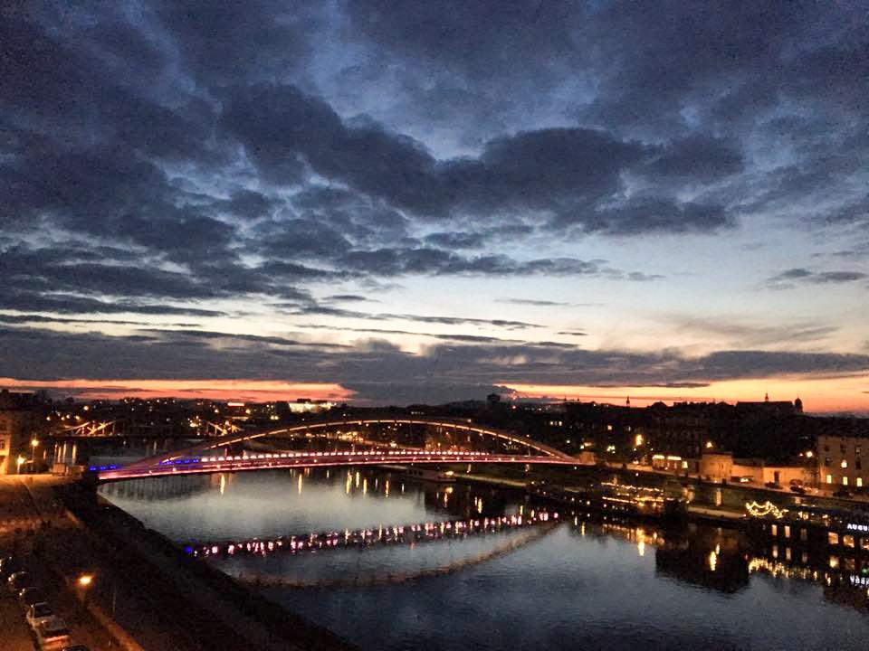 An Evening in Krakow