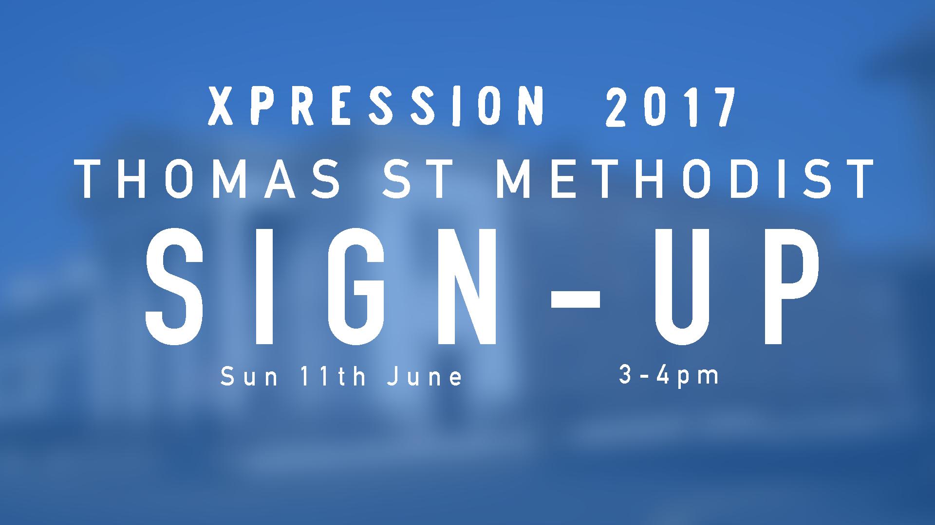 2nd Sign-Up Event - Thomas Street Methodist, Thomas Street, Portadown