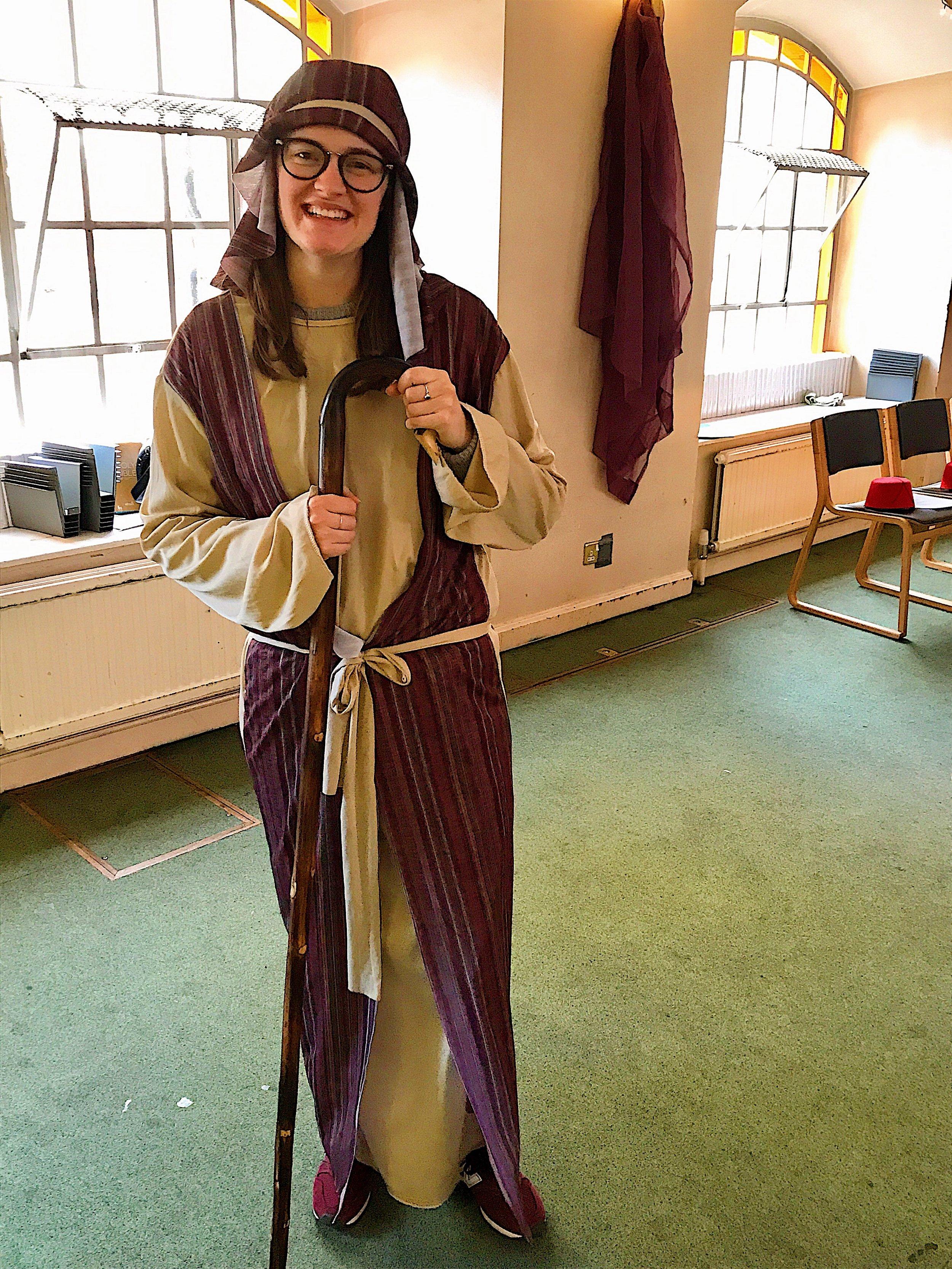 Reviving my nativity shepherd