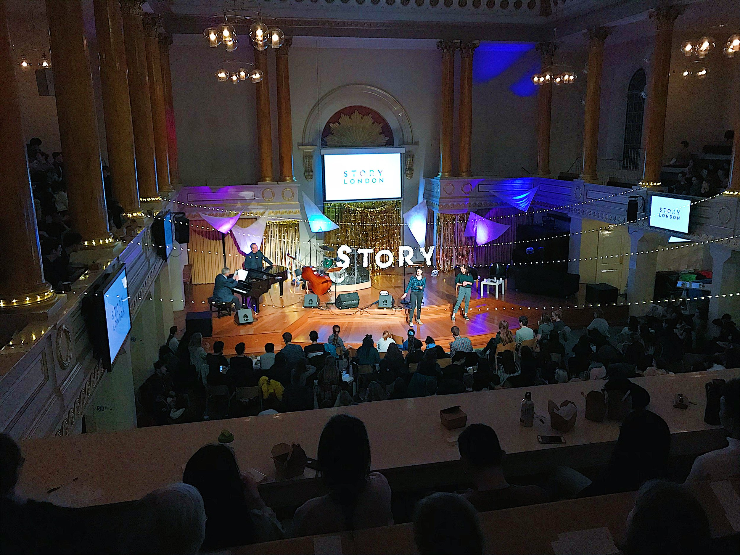 Our UCCF week in January. It was so encouraging seeing all the London CU's coming together to worship God.