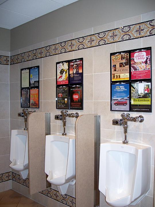 Men's Room Graffiti ads