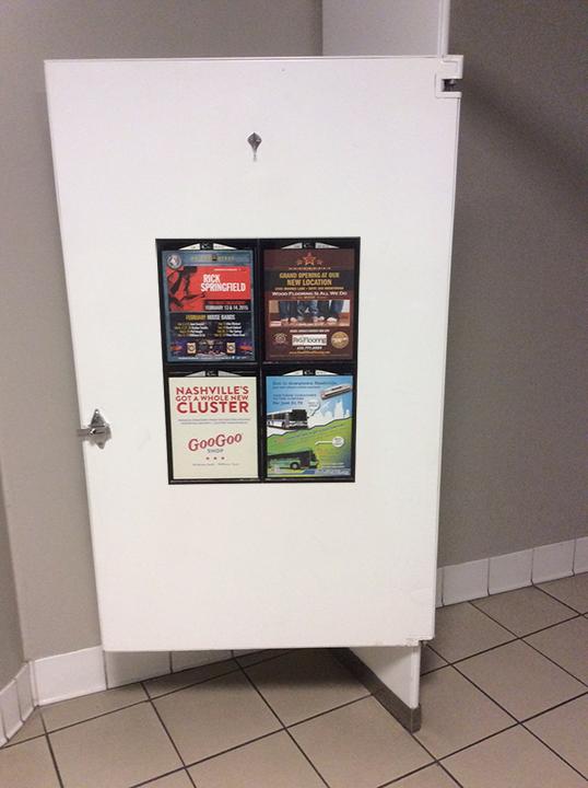 Women's Room Graffiti ads